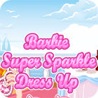 Barbie Super Sparkle DressUp 游戏