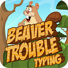 Beaver Trouble Typing 游戏