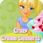 Crazy Cream Desserts 游戏