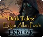 Dark Tales: Edgar Allan Poe's Lenore 游戏