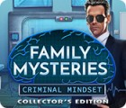Family Mysteries: Criminal Mindset Collector's Edition 游戏