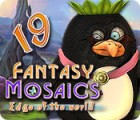 Fantasy Mosaics 19: Edge of the World 游戏