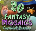 Fantasy Mosaics 20: Castle of Puzzles 游戏