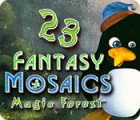 Fantasy Mosaics 23: Magic Forest 游戏