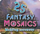 Fantasy Mosaics 25: Wedding Ceremony 游戏
