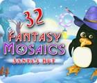 Fantasy Mosaics 32: Santa's Hut 游戏
