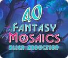 Fantasy Mosaics 40: Alien Abduction 游戏