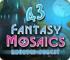 Fantasy Mosaics 43: Haunted Forest 游戏