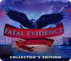 Fatal Evidence: Art of Murder Collector's Edition 游戏