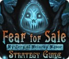 Fear For Sale: Mystery of McInroy Manor Strategy Guide 游戏