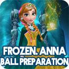 Frozen. Anna Dress Up 游戏