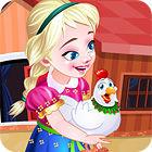 Frozen. Anna Poultry Care 游戏
