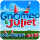 Gnomeo and Juliet Coloring 游戏