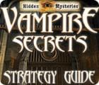 Hidden Mysteries: Vampire Secrets Strategy Guide 游戏