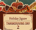 Holiday Jigsaw Thanksgiving Day 2 游戏
