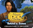 Memoirs of Murder: Behind the Scenes Collector's Edition 游戏