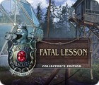 Mystery Trackers: Fatal Lesson Collector's Edition 游戏