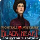 Nightfall Mysteries: Black Heart Collector's Edition 游戏