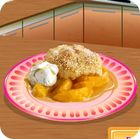 Sara's Cooking Class: Peach Cobbler 游戏