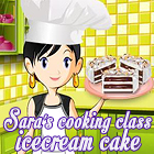 Sara's Cooking Class: Ice Cream Cake 游戏