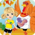 Thanksgiving Turkey Dress-Up 游戏