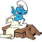 The Smurfs Brainy's Bad Day 游戏