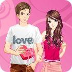 Valentine Dressup 游戏