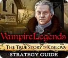 Vampire Legends: The True Story of Kisilova Strategy Guide 游戏