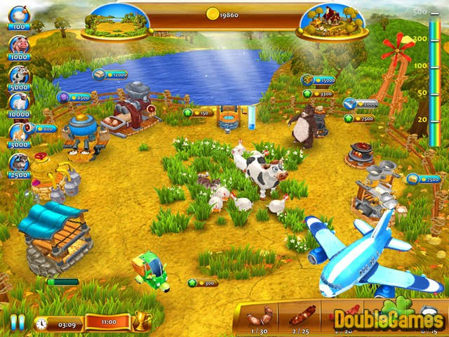 Free Download Farm Frenzy 4 Screenshot 1
