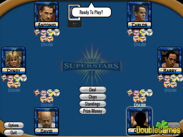 Free Download Poker Superstars II Screenshot 1