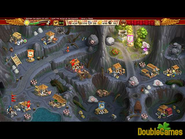 Free Download Roads of Rome: New Generation III Collector's Edition Screenshot 3