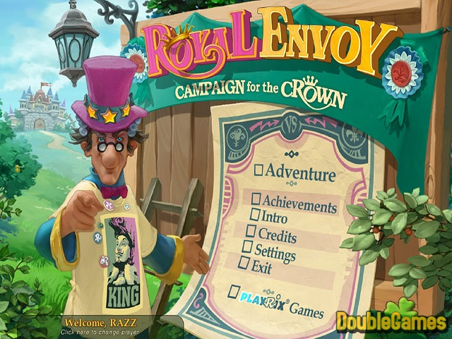 免费下载屏幕 Royal Envoy: Campaign for the Crown Collector's Edition 1