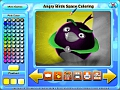 免费下载屏幕 Angry Birds Space Coloring 3