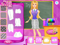 免费下载屏幕 Barbie School Uniform Design 1