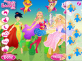 免费下载屏幕 Barbie Super Princess Squad 2