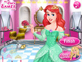 免费下载屏幕 Barbie Princess Hair Salon 3