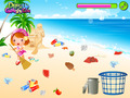 免费下载屏幕 Beach Clean Up Game 2