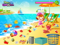 免费下载屏幕 Beach Clean Up Game 3