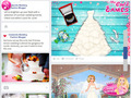 免费下载屏幕 Cinderella Wedding Fashion Blogger 3