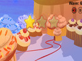 免费下载屏幕 Cupcakes VS Veggies 1