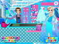 免费下载屏幕 Frozen — Elsa Shopping 3