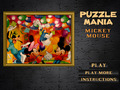 免费下载屏幕 Puzzlemania. Mickey Mouse 1