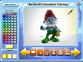 免费下载屏幕 The Smurfs Characters Coloring 3