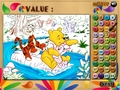 免费下载屏幕 Winnie, Tigger and Piglet: Colormath Game 1