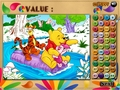 免费下载屏幕 Winnie, Tigger and Piglet: Colormath Game 2