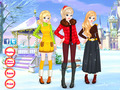 免费下载屏幕 Winter Besties Dress Up 3